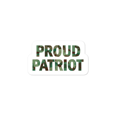 Proud Patriot Sticker - Real Tina 40