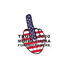Load image into Gallery viewer, TRUMP 2020 MF FOH Middle Finger Sticker