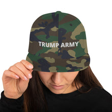 Load image into Gallery viewer, Trump Army Snapback Hat - Real Tina 40