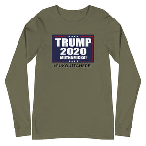 TRUMP 2020 MF #FOH Long Sleeve Shirt - Real Tina 40