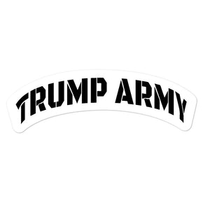Trump Army Sticker - Real Tina 40