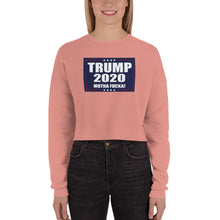 Load image into Gallery viewer, TRUMP 2020 MF Women's Cropped Sweatshirt