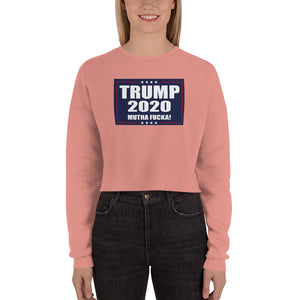 TRUMP 2020 MF Women's Cropped Sweatshirt
