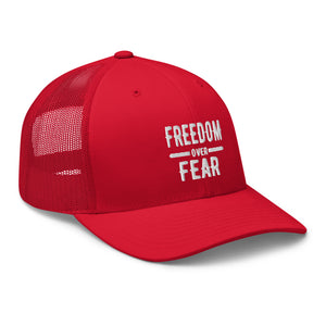 Freedom over Fear Trucker Cap