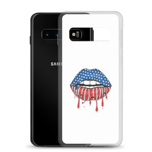 USA Lips Samsung Case
