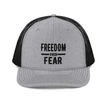 Charger l'image dans la galerie, Freedom over Fear Trucker Cap