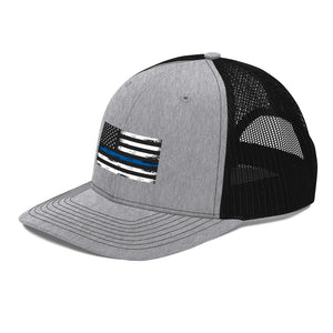 Thin blue line Trucker Cap