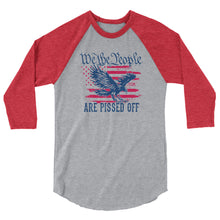 Load image into Gallery viewer, We The People APO 3/4 sleeve raglan shirt