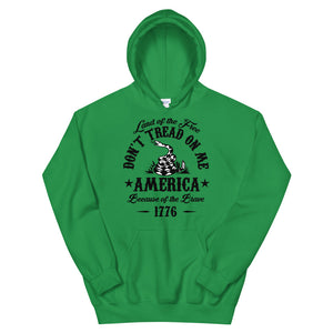 Don't tread on me Unisex Hoodie