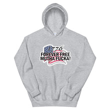 Load image into Gallery viewer, Unisex Hoodie 1776 forever free MF