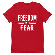 Charger l'image dans la galerie, Freedom over Fear Short-Sleeve Unisex T-Shirt