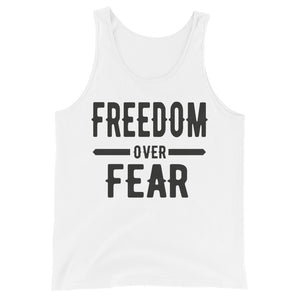 Freedom over Fear Unisex Tank Top