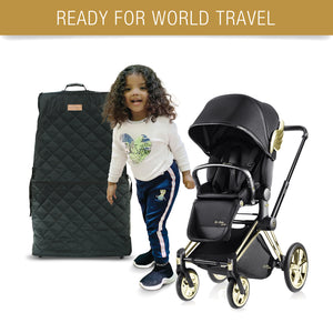 Stroller Travel Cover for Baby and Toddler with Wheels