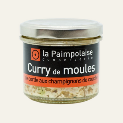 Tartinable de Moules de Bouchot au curry et champignons