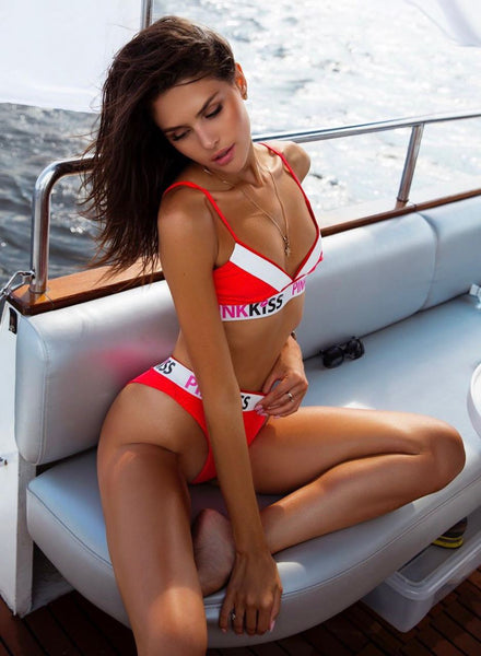 Pinkkiss Red Swimwear