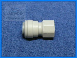 "John Guest 12mm Push Fit Connector to 3/8"" BSP Female"