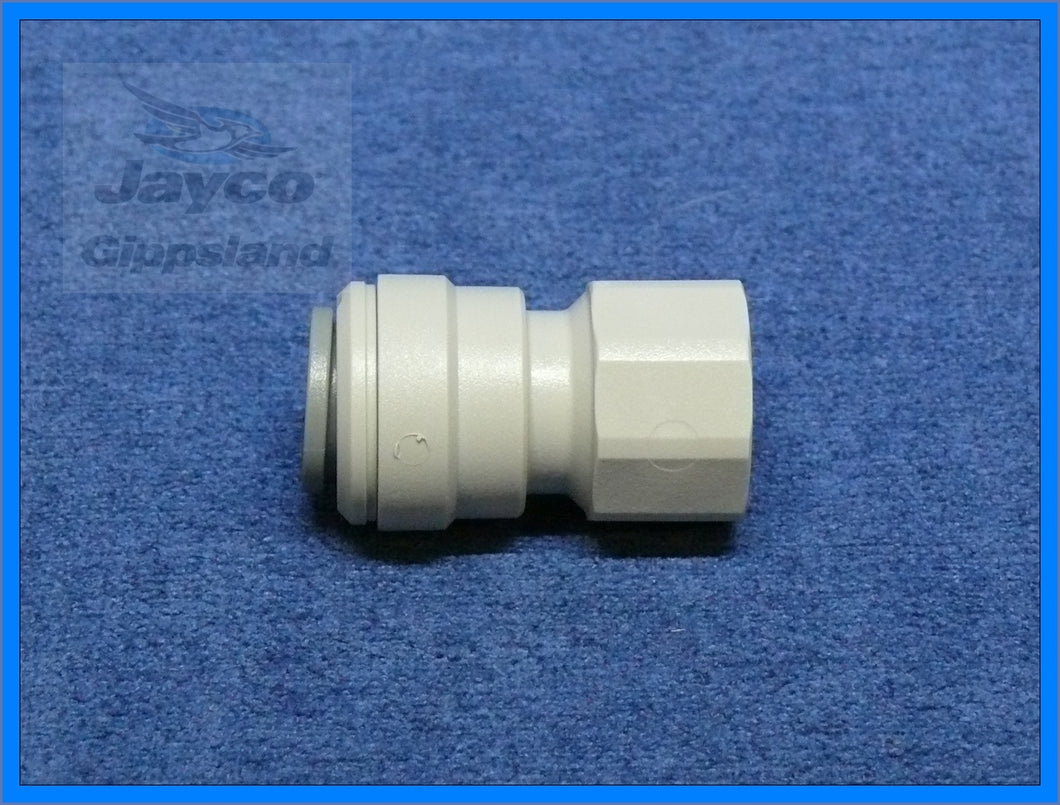 John Guest 12mm Push Fit Connector to 3/8
