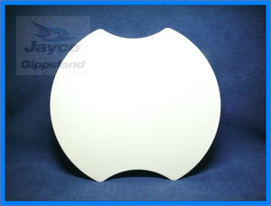 JAYCO Sink Cover Cutting Board Platter Round
