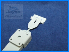 Load image into Gallery viewer, Jayco Poptop Roof Clamp WHITE