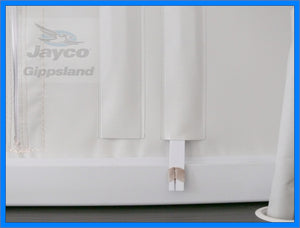 Jayco Pop Top Vinyl/Canvas Tensioners Pack of 6
