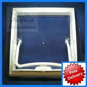 DOMETIC Mini Heki Plus Roof Hatch Vent 400x400 Complete (Full Caravan)