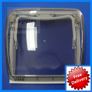 DOMETIC Mini Heki Plus Roof Hatch Vent 400x400 Complete (Camper/Poptop)