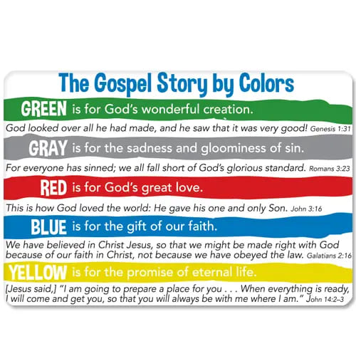 Gospel Story by Color