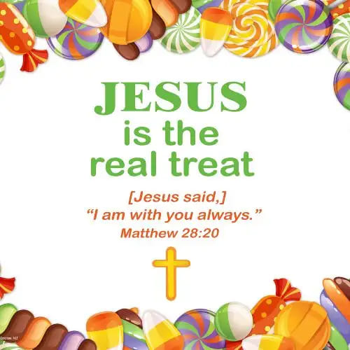 Jesus is the Real Treat