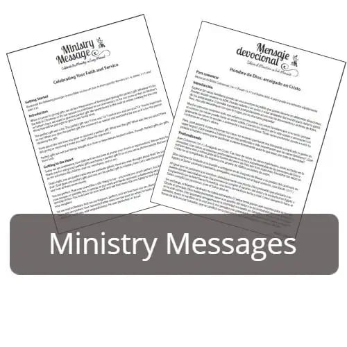 Adult Ministry Messages