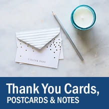 Thank You Cards, Postcards, & Note Cards