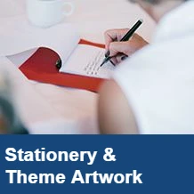 Stationery & Theme Artwork