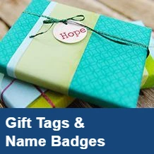 Gift Tags & Name Badges