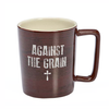 Against the Grain Ceramic Mug with Gift Box