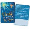 Christ the Savior Is Born Lapel Pin and Card