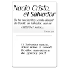 Christ the Savior Is Born Ornament of Faith® and Gift Tag-Spanish
