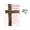 God's Love Lapel Pin & White Card Set