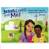 Outreach Card with Plantable Seed Cross - Jesus Lives for Me!