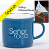 Case Deal for The Lord is My Rock Spanish Mugs