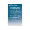 Lapel Pin & Card - The Lord Is My Song