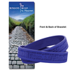 Romans Road to Heaven Silicone Bracelet & Bookmark(KJV)