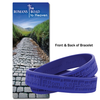 Romans Road to Heaven Silicone Bracelet & Bookmark