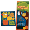 Activity Card and Stickers - Whooo Are You? I am Loved by God