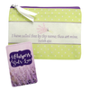 Mini Accessory Bag with Card KJV - Whispers of God's Love