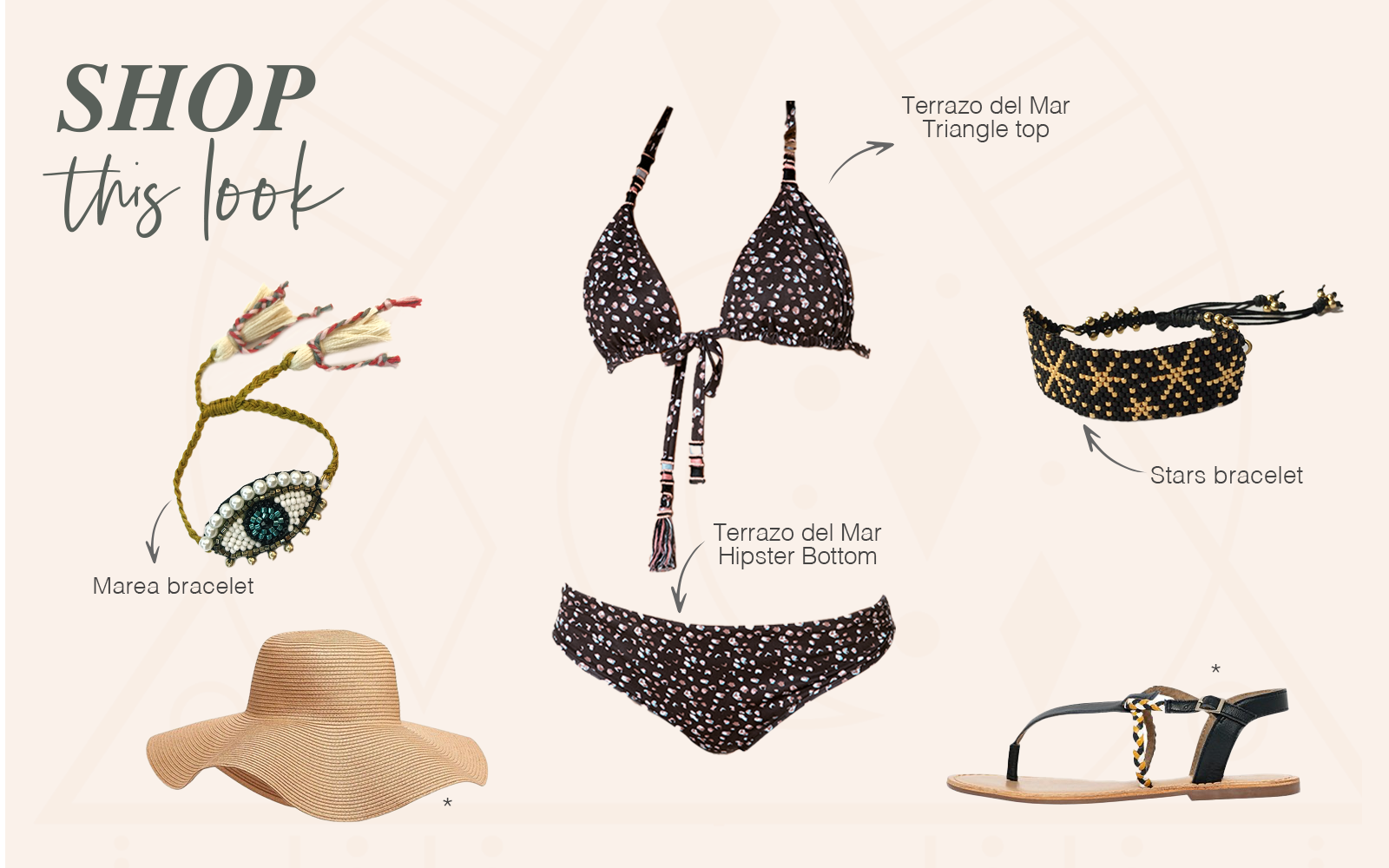 Shop This Look Terrazo del Mar