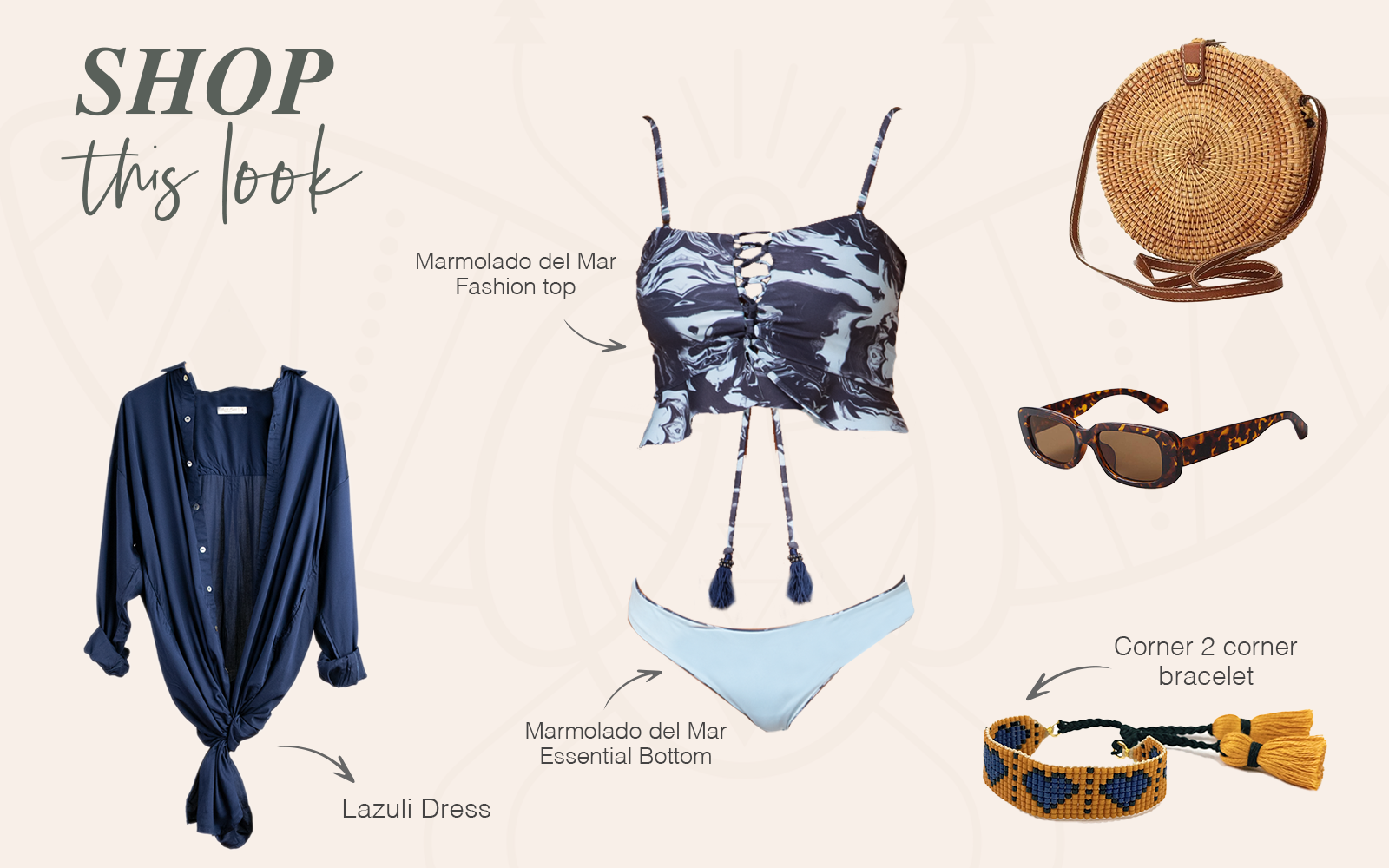 Shop This Look Marmolado del Mar