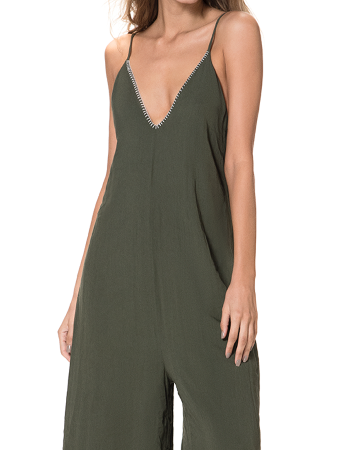 Étnico del Mar Army Jumpsuit