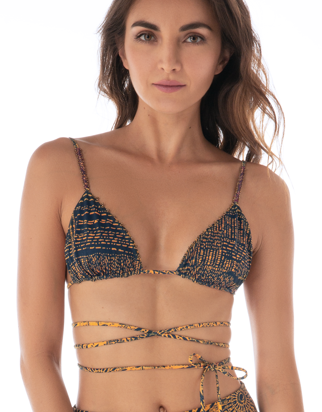 Mar Sole Triangle Bikini Top - Eco Fabric