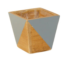 Load image into Gallery viewer, Wooden Geo-planter