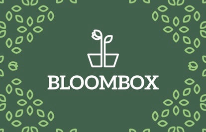 BloomBox gift card design