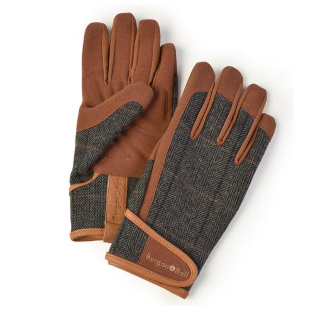 Men's Tweed Gardening Glove